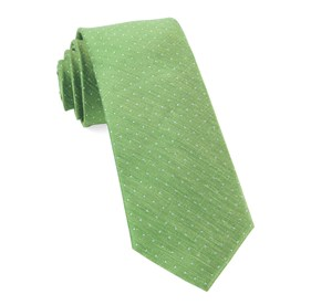 Apple Green Rivington Dots ties