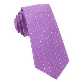Rivington Dots Wisteria Ties