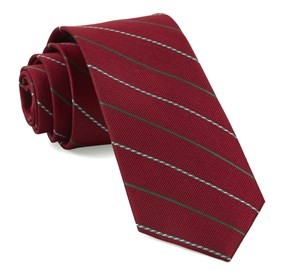 Red Candy Cane Stripe ties