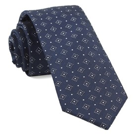 Navy Gemstone Gala ties