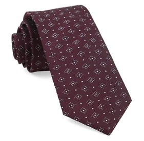Burgundy Gemstone Gala ties