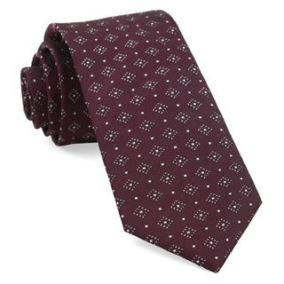 gemstone gala burgundy ties