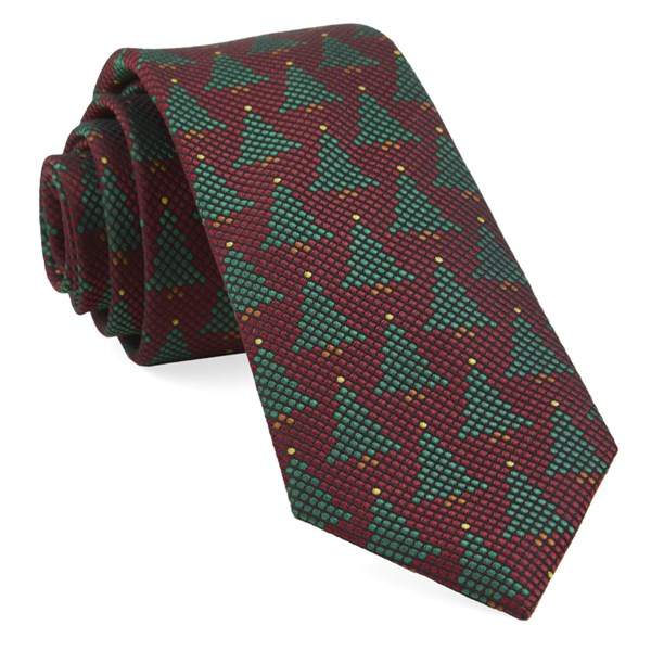 Red Holiday Network Tie