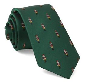 Kelly Green Nutcracker ties