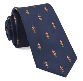 Navy Nutcracker ties
