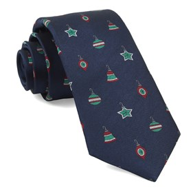 Navy Ornament Suite ties