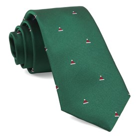 Kelly Green Santa Baby ties