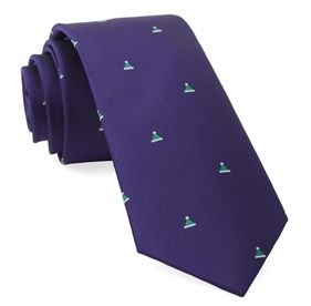 Purple Santa Baby ties