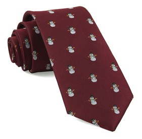 Red Snowman Goals ties