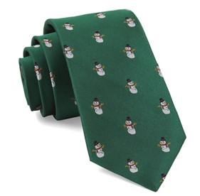Kelly Green Snowman Goals ties