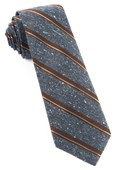 Ties - Spirit Stripe - Deep Slate Blue