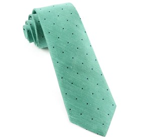 Bulletin Dot Mint Ties