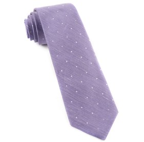 Lavender Bulletin Dot ties