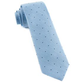 Bulletin Dot Sky Blue Ties