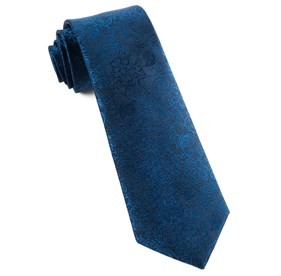 Navy Ceremony Paisley ties
