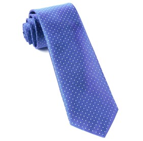 Periwinkle Mini Dots ties