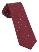 Ties - Dotted Report - Red