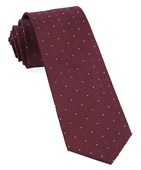 Ties - Geo Key - Burgundy