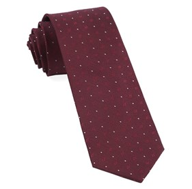 Geo Key Burgundy Ties