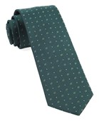 Ties - Geo Key - Hunter Green