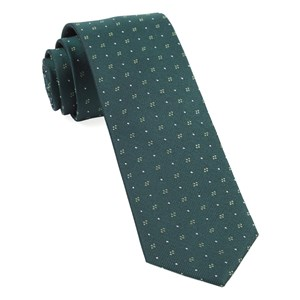 geo key hunter green ties