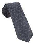 Ties - Repine Paisley - Charcoal