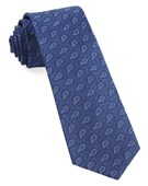 Ties - Repine Paisley - Classic Blue