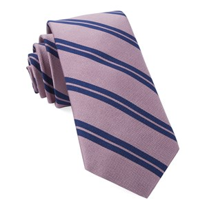 center field stripe pink ties