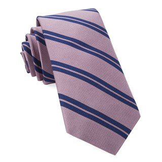Center Field Stripe Pink Tie