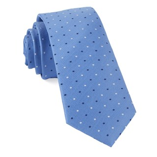 Jpl Dots Light Blue Tie