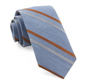 Light Blue Pep Stripe ties