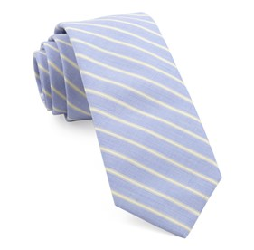 Yellow Marina Stripe ties