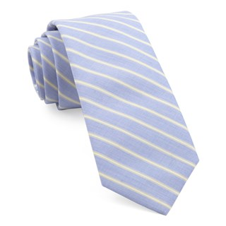 marina stripe yellow ties
