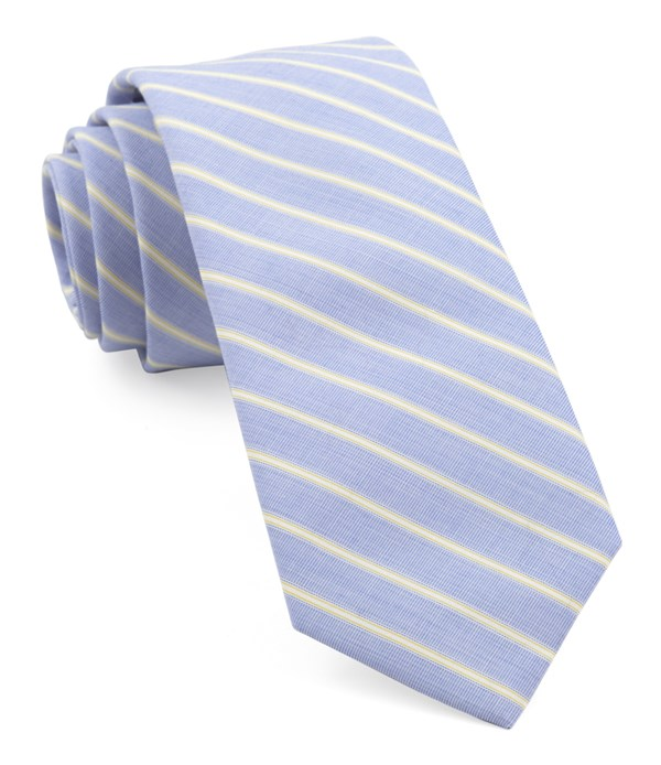 Marina Stripe Yellow Tie