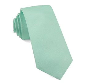 Spearmint Grosgrain Solid boys ties