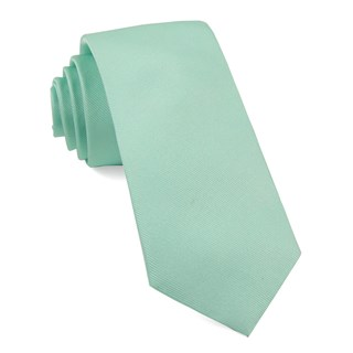 Grosgrain Solid Spearmint Tie