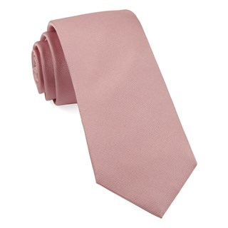 grosgrain solid baby pink boys ties
