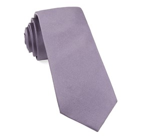 Lavender Grosgrain Solid boys ties