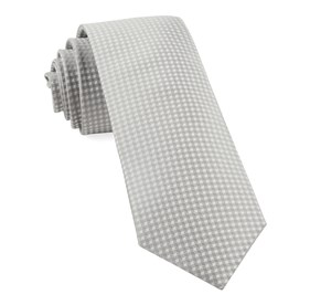 Silver Be Married Checks ties