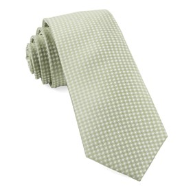 Sage Green Be Married Checks ties