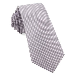 Be Married Checks Lavender Tie