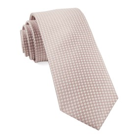 Soft Pink Be Married Checks ties