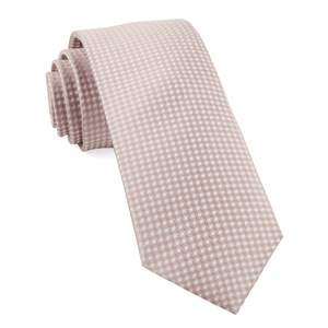 be married checks soft pink ties