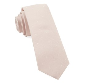 Blush Pink Bulletin Dot ties