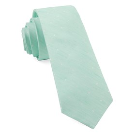Spearmint Bulletin Dot ties