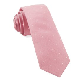 Pink Bulletin Dot ties