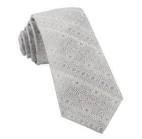 Grey Wedded Lace ties