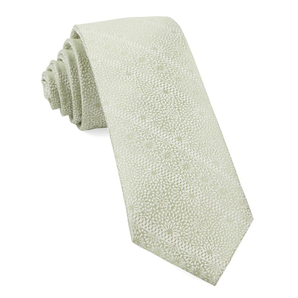 Sage Green Wedded Lace Tie
