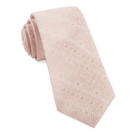 Soft Pink Wedded Lace ties