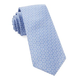 first look floral periwinkle ties